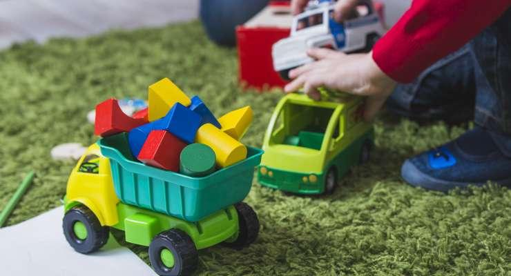 A criança, os tipos de brinquedo e o desenvolvimento