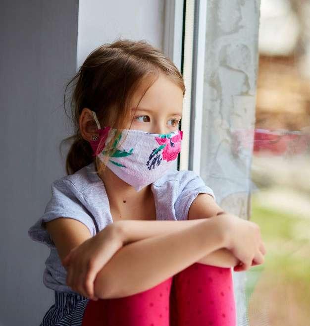 Crianças no isolamento social